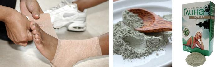 Компресс с глиной