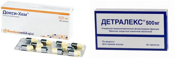Препараты для лечения вен