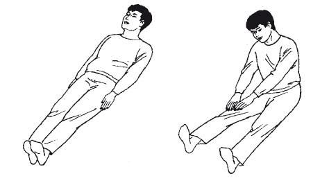 Упражнения при судорогах
