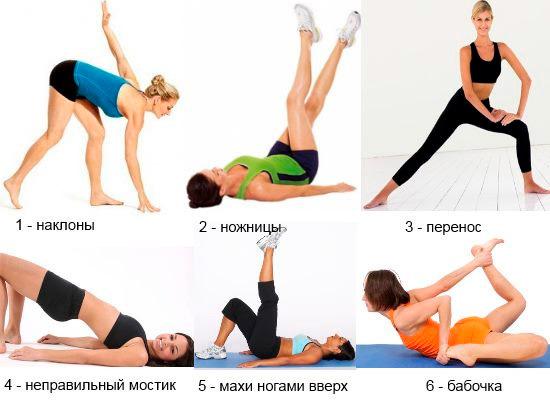 Антицеллюлитные упражнения