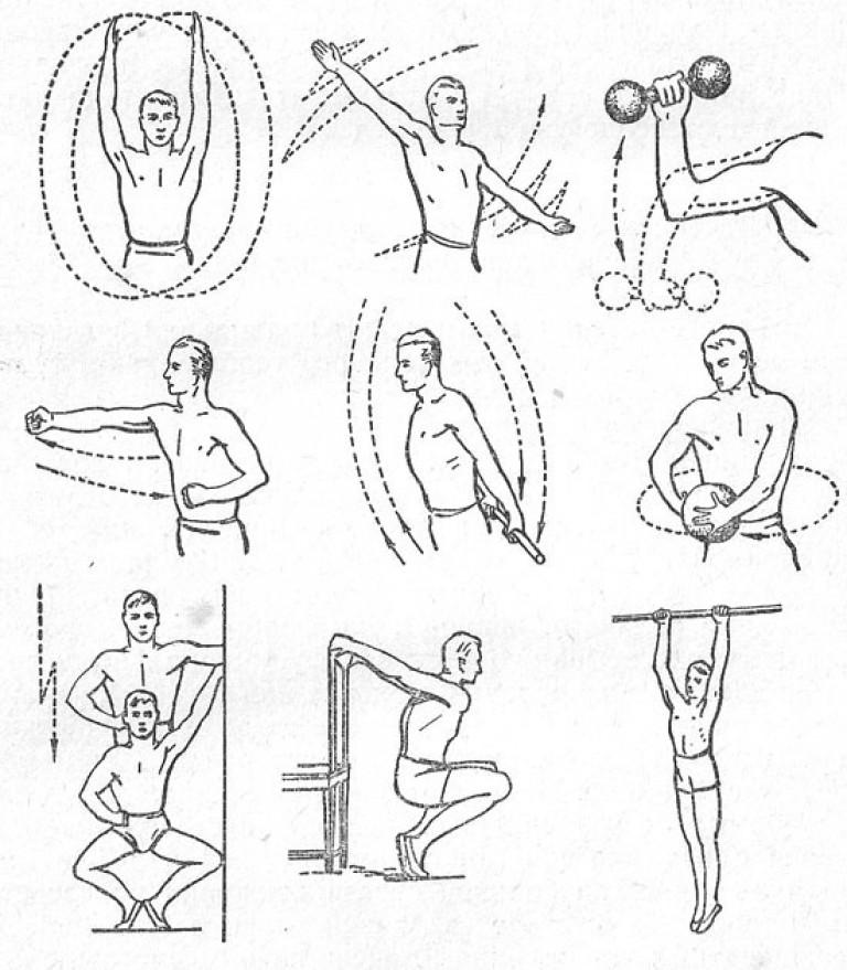 физическая реабилитация упражнения для тазобедренного сустава
