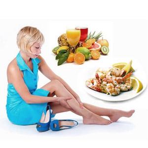 Рацион питания при варикозном расширении вен на ногах