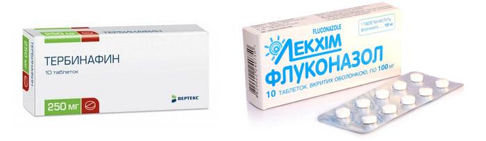 Тербинафин и Флуконазол