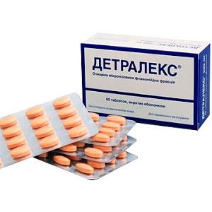 Чем заменить препарат Детралекс при варикозном расширении вен