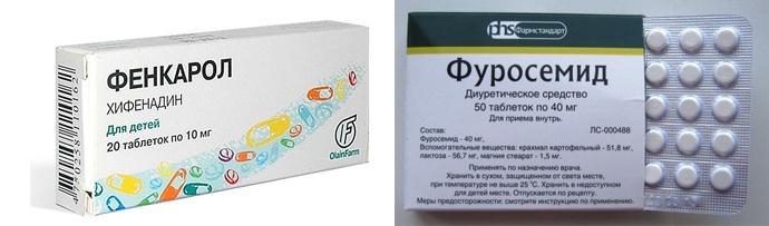 Противоотечные лекарства