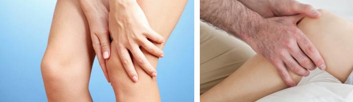 Терапия при ушибленном колене
