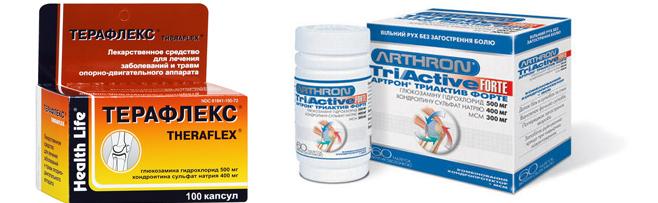 Терафлекс и Артрон при артрите