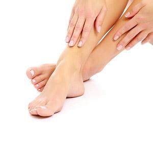 Как проявляется начальная стадия экземы на ногах