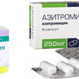 Кларитромицин и Азитромицин