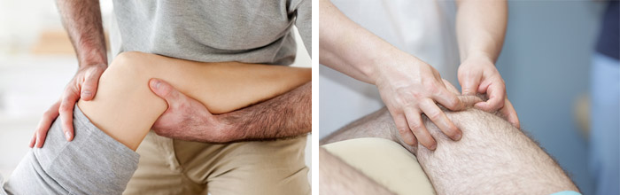 Массирование суставов