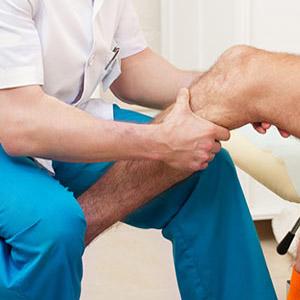 Разрыв или растяжение связок коленного сустава