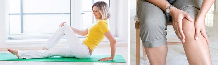 Упражнения при заболевании коленей