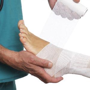 Что делать при травме или ушибе голеностопного сустава